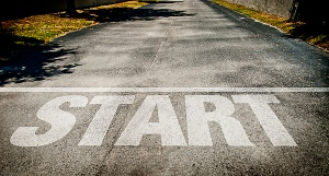 This is the hardest thing for most people. Starting. Not quitting.